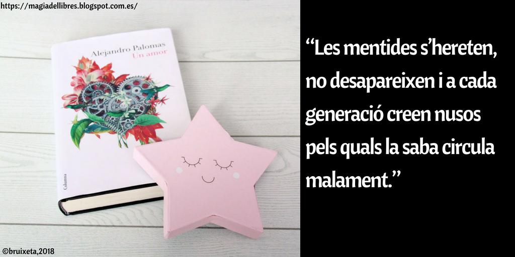 Un amor d'Alejandro Palomas