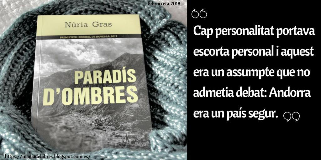 Paradís d'ombres de Núria Gras