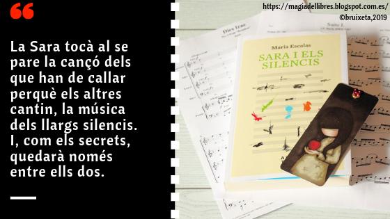Sara i els silencis de Maria Escalas