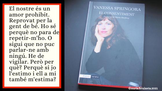 El consentiment. Vanessa Springora