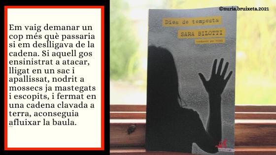 Dies de tempesta. Sandra Bilotti